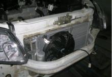 Замена радиатора кондиционера
