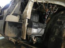 Монтаж (установка) автономного предпускового подогревателя со снятием топливного бака и подключением климата автомобиля