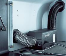 Монтаж (установка) автономного воздушного отопителя